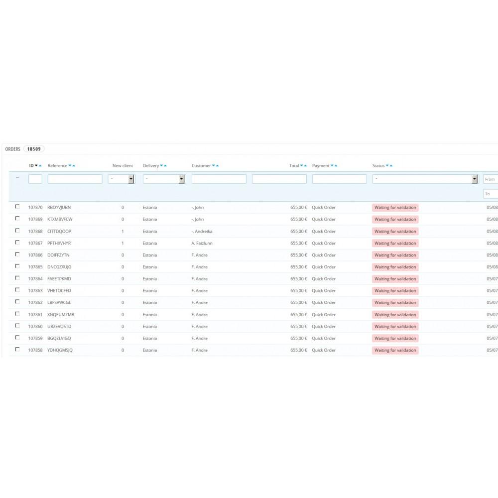 module - Cadastro e Processo de Pedido - Quick Order (Simply & fast Order) - 1