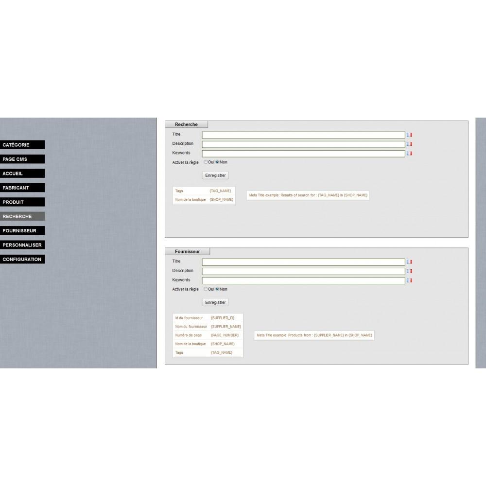module - SEO (Indicizzazione naturale) - SEO Meta Tags Generator - 4