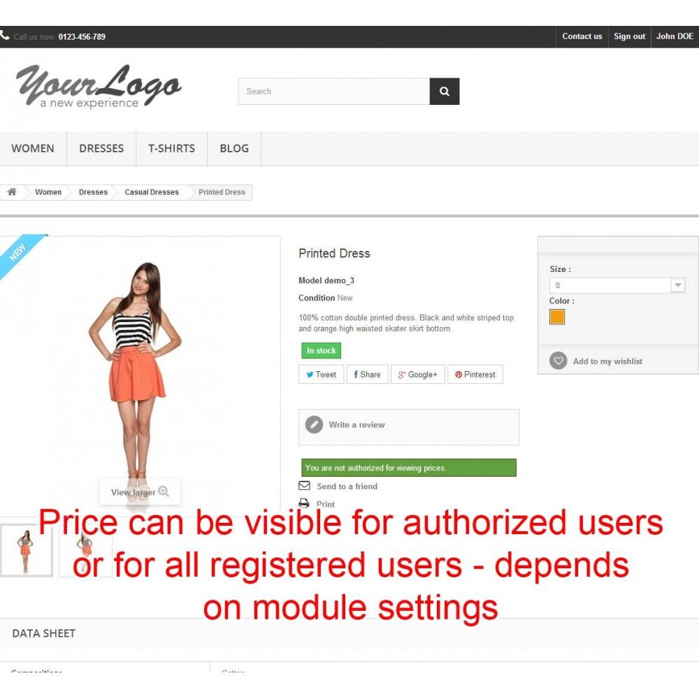 module - Prijsbeheer - Price hide Pro - 12