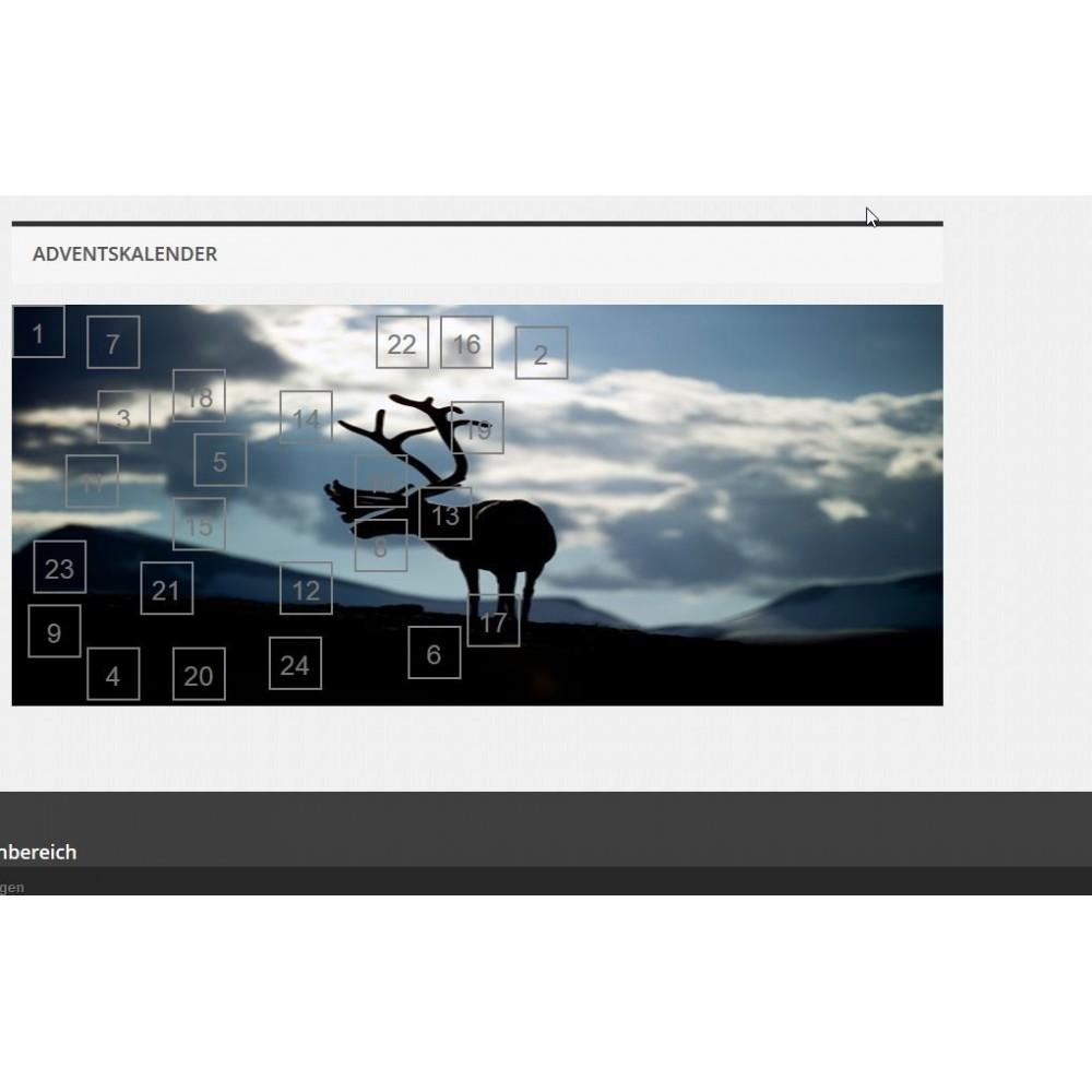 module - Personalisering van pagina's - Advent Calendar / Christmas Calendar / Santa Calendar - 9