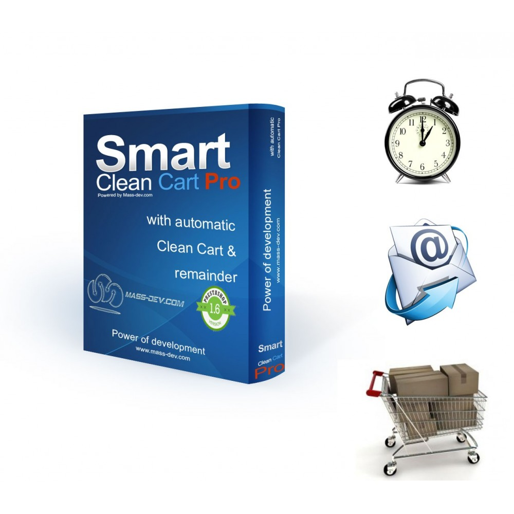 module - Remarketing & Compras abandonados - Smart Clean Cart Pro - 1