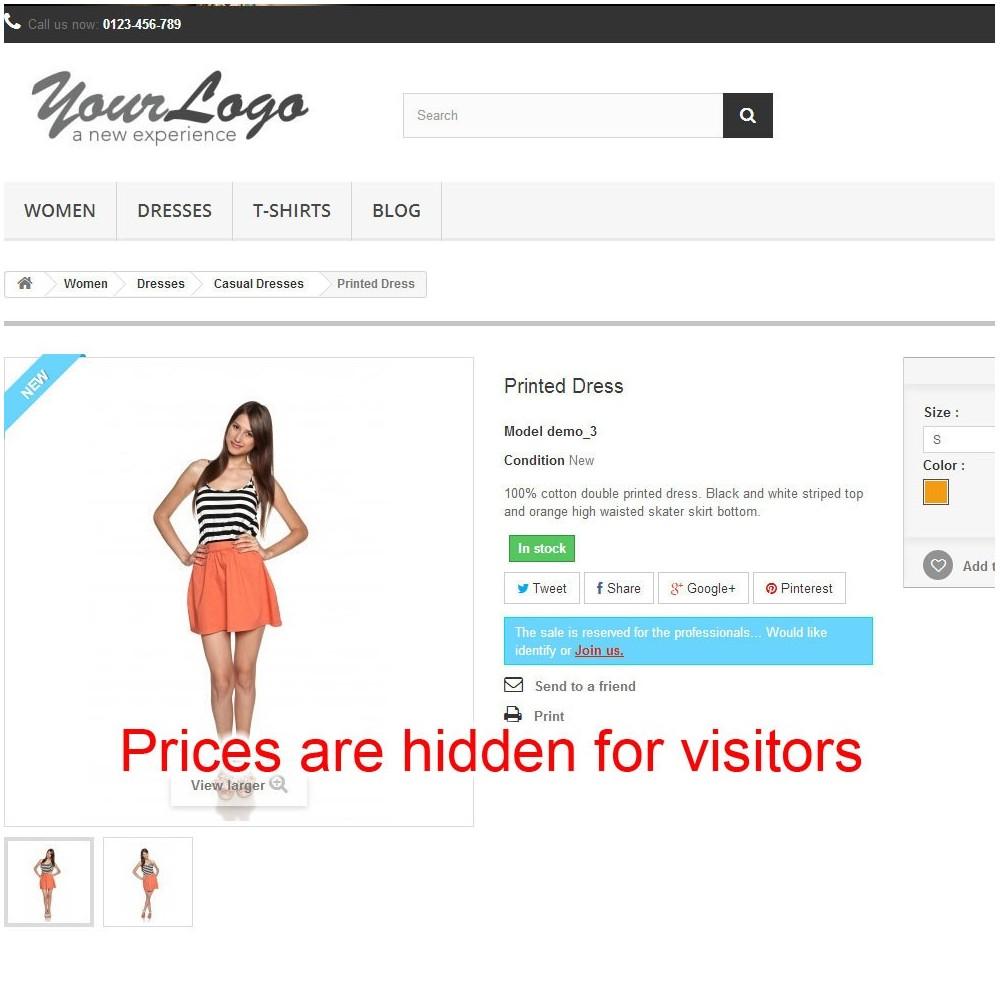 module - Управление ценами - Price hide - 7