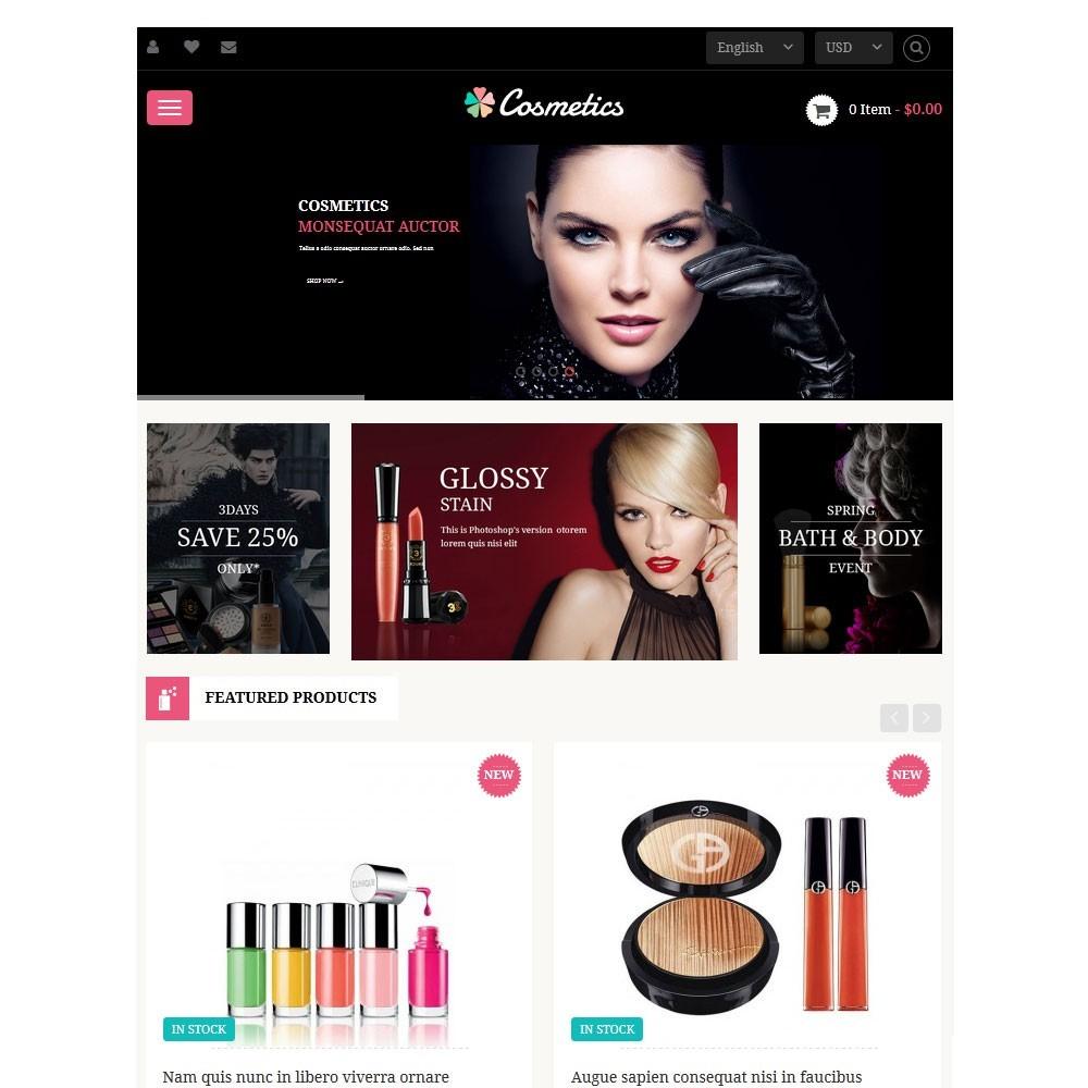 theme - Здоровье и красота - Leo Cosmetics - Organic, Health, Pharmacy, Beauty store - 3