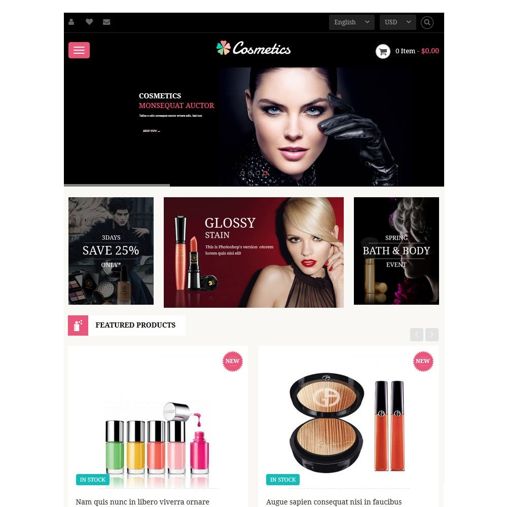 theme - Salute & Bellezza - Leo Cosmetics - 3