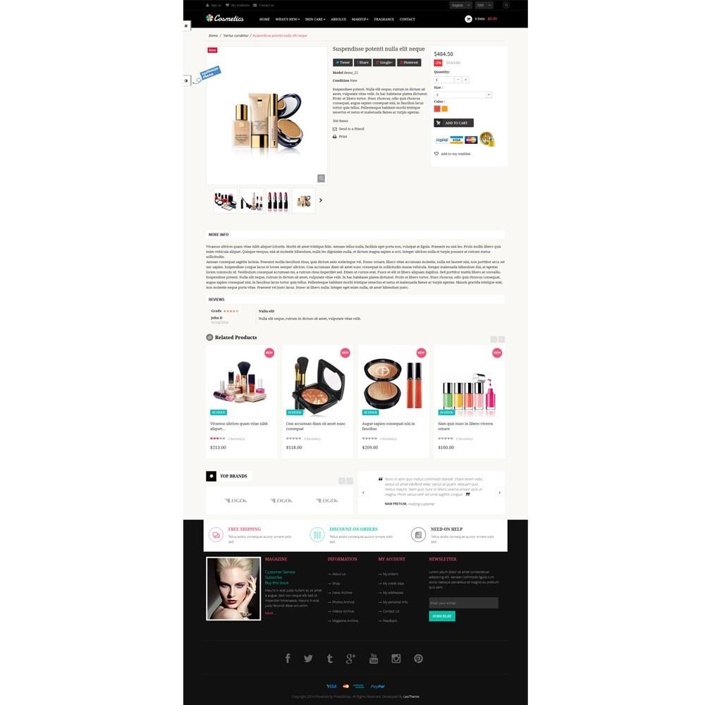 theme - Здоровье и красота - Leo Cosmetics - Organic, Health, Pharmacy, Beauty store - 4
