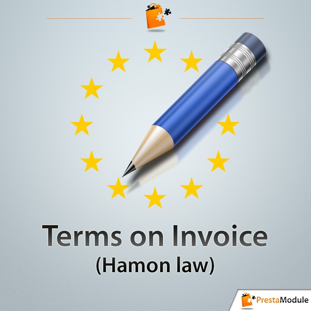 module - Legal - Terms on Invoice - Hamon law - 1
