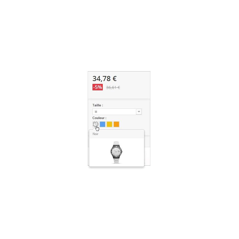 module - Combinaciones y Personalización de productos - Viñetas para los atributos de los productos - 3