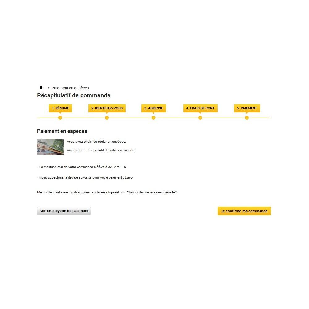 module - Paiement en Magasin - Cash Payment / Paiement Espèces - 5
