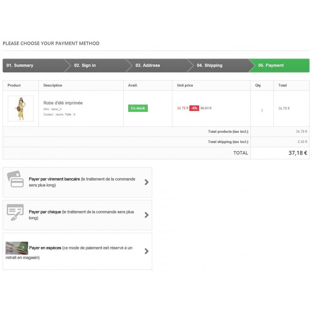 module - Pago en Tienda física (TPV físico) - Cash Payment / Paiement Espèces - 1