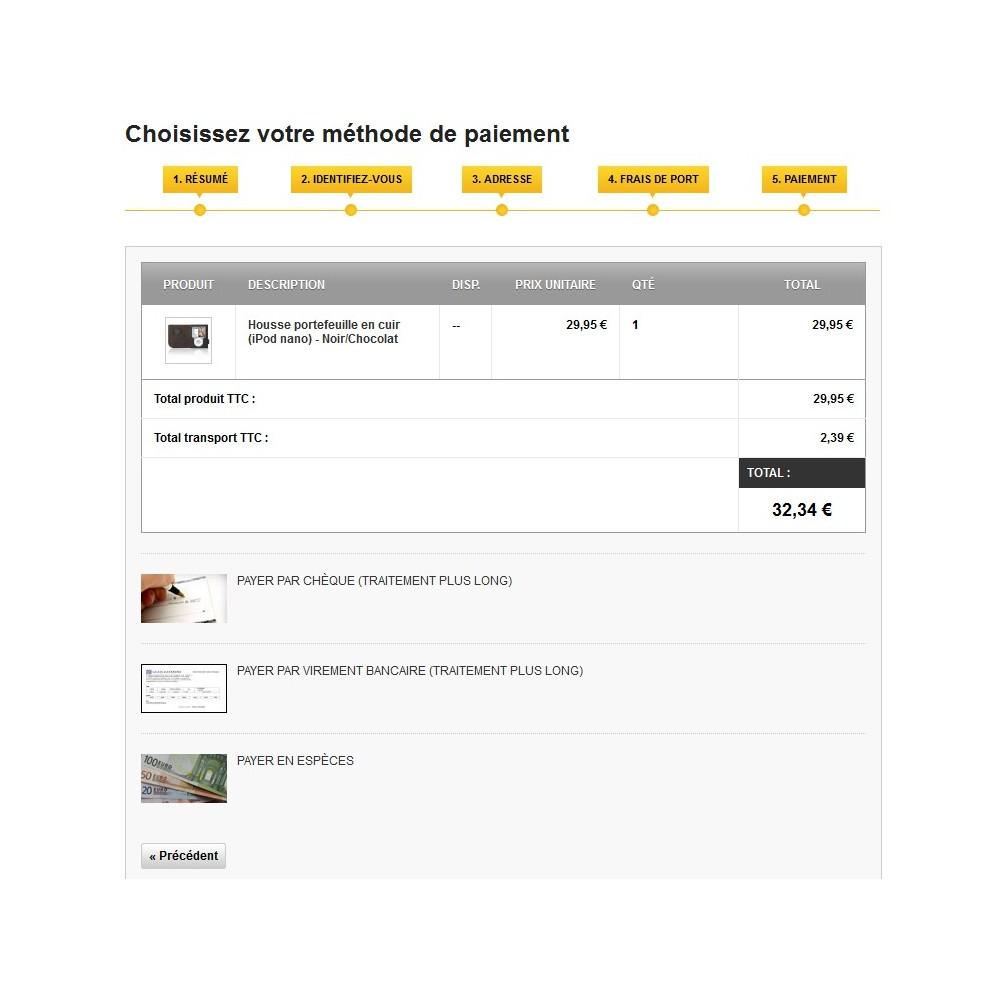 module - Pago en Tienda física (TPV físico) - Cash Payment / Paiement Espèces - 4