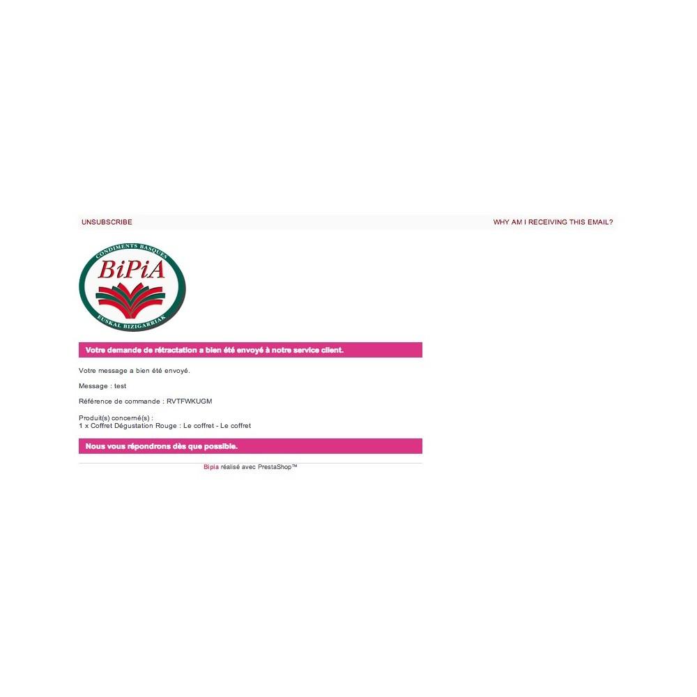 module - Législation - Hamon gestion complète : rétractation + CGV en PJ - 3