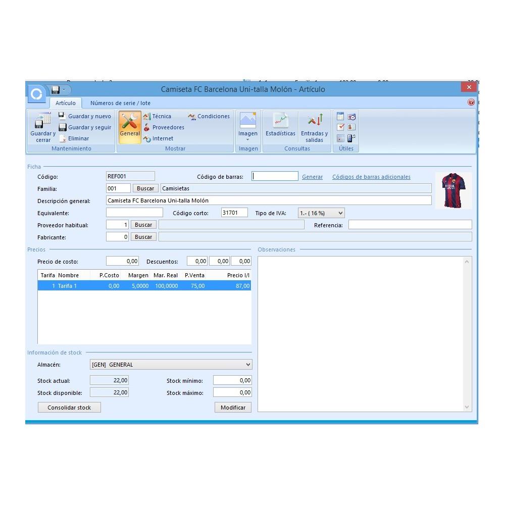 module - Data Integraties (CRM, ERP...) - Professional FactuSOL Connector - 12