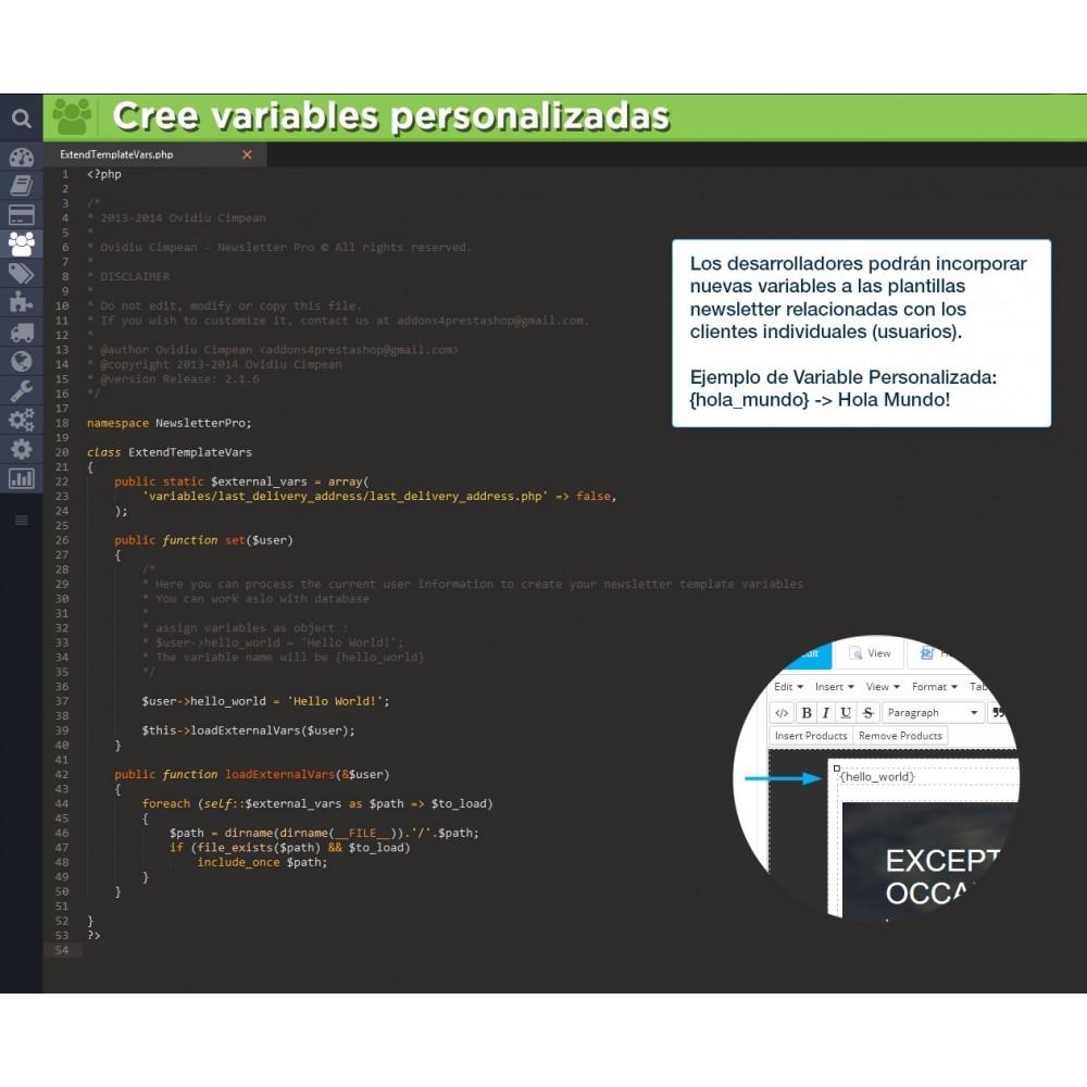 module - Newsletter y SMS - Newsletter Pro - 21