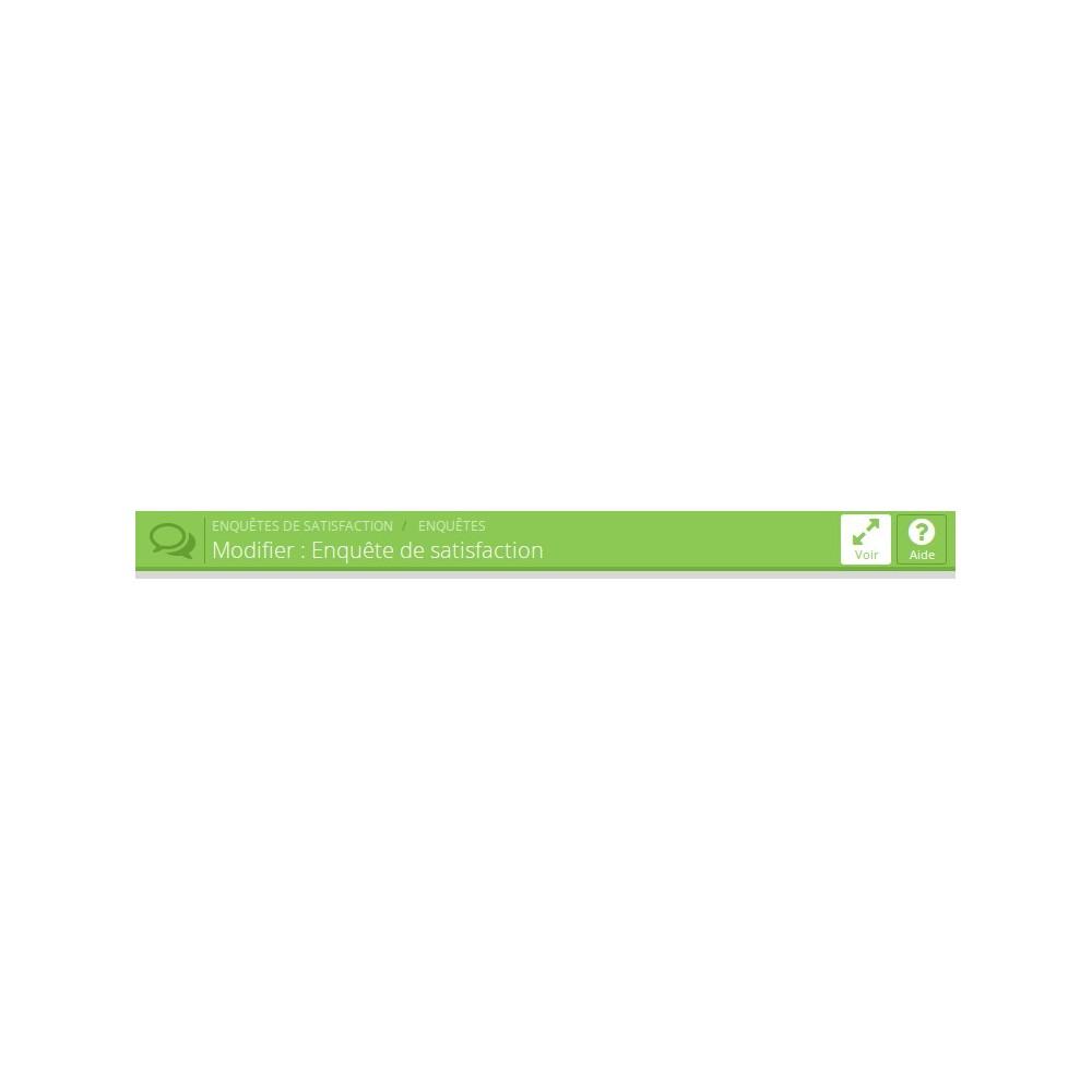 module - Formulario de contacto y Sondeos - Satisfaction Survey - 11