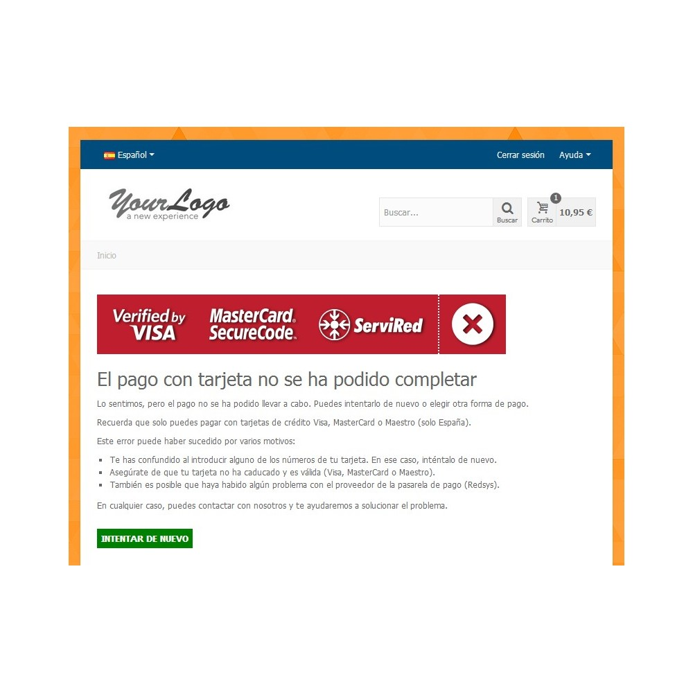 module - Payment by Card or Wallet - Redsys Virtual POS - Card payment (Sermepa / Servired) - 4