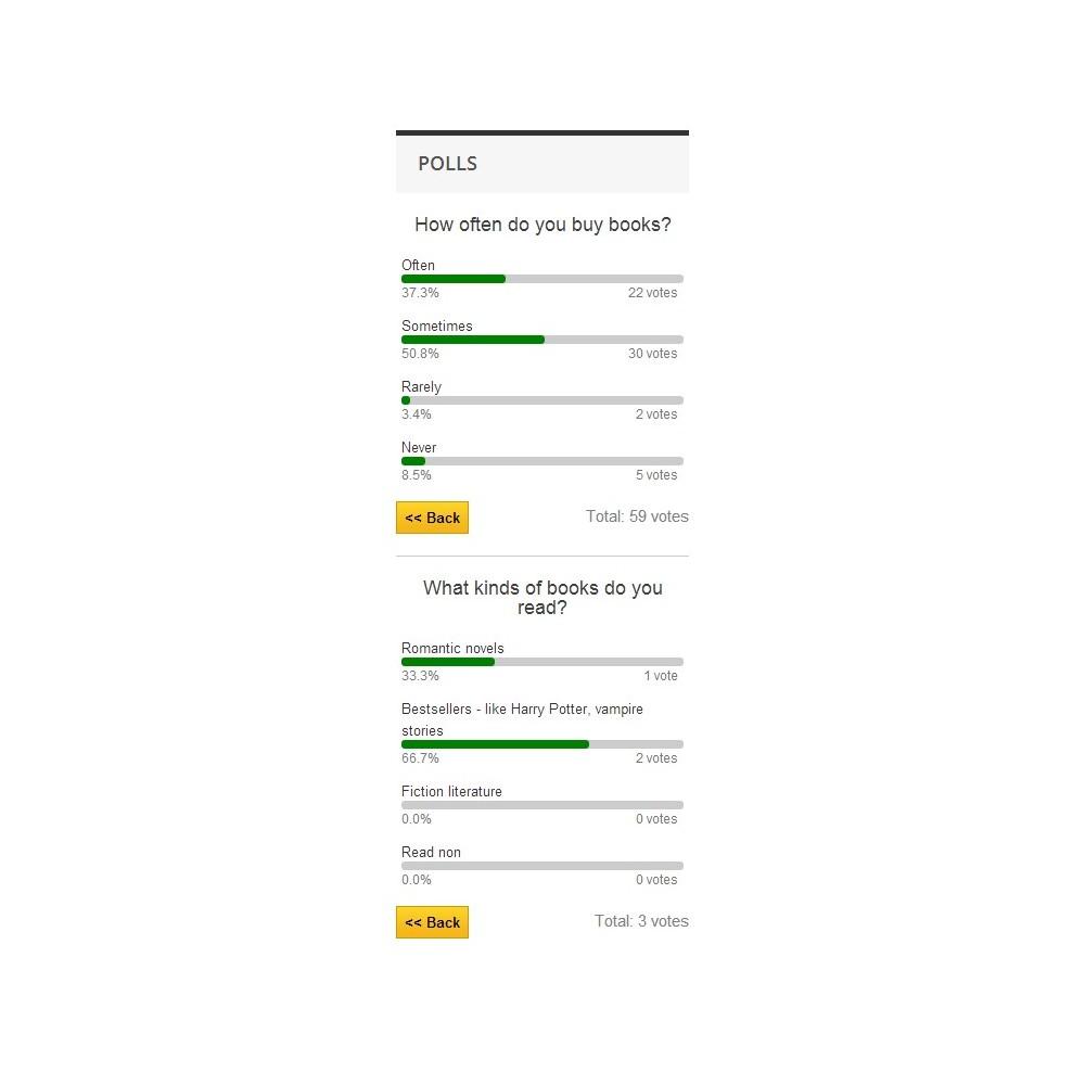 module - Formulaires de Contact & Sondages - Poll Pro - 10