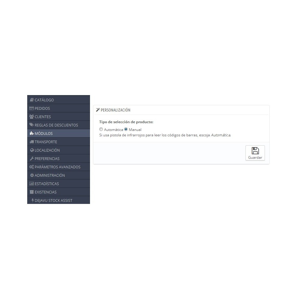module - Edición Rápida y Masiva - Reposición de stock Masiva - 3