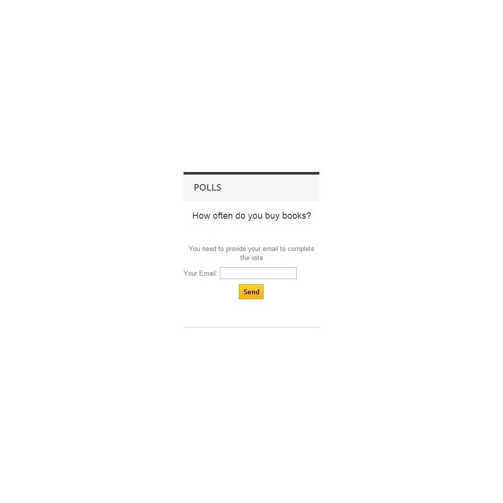 module - Formulaires de Contact & Sondages - Poll Pro - 9