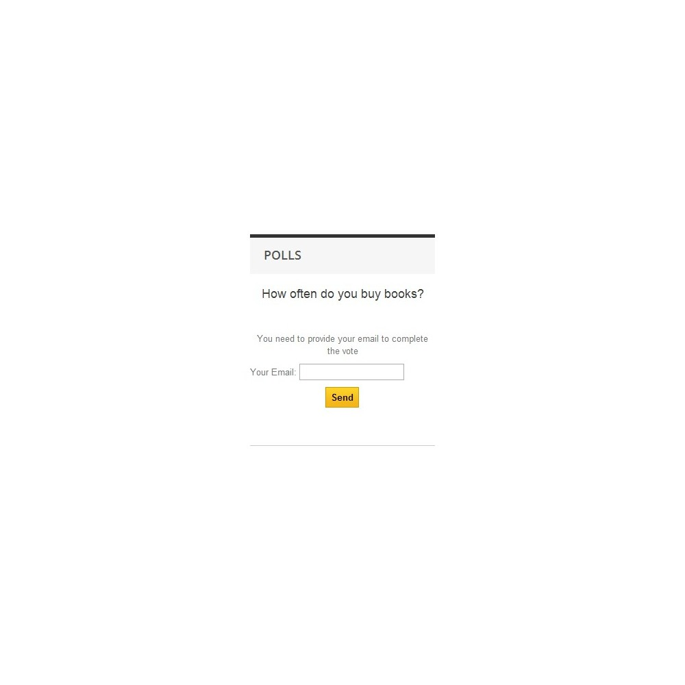 module - Contact Forms & Surveys - Poll Pro - 9
