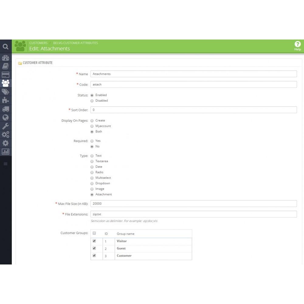 module - Pегистрации и оформления заказа - Атрибуты Клиентов и Поля Регистрации - 3