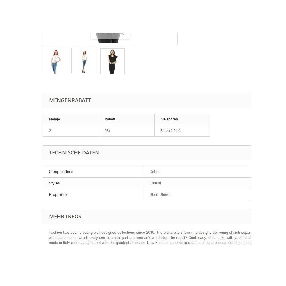 module - Dodatkowe informacje & Zakładka produktu - Tabs2Accordion - 2