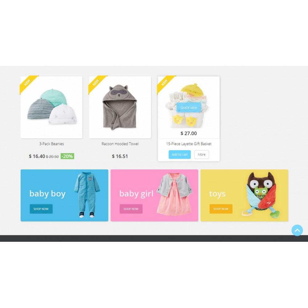 theme - Bambini & Giocattoli - Baby Market 1.6 Responsive - 3