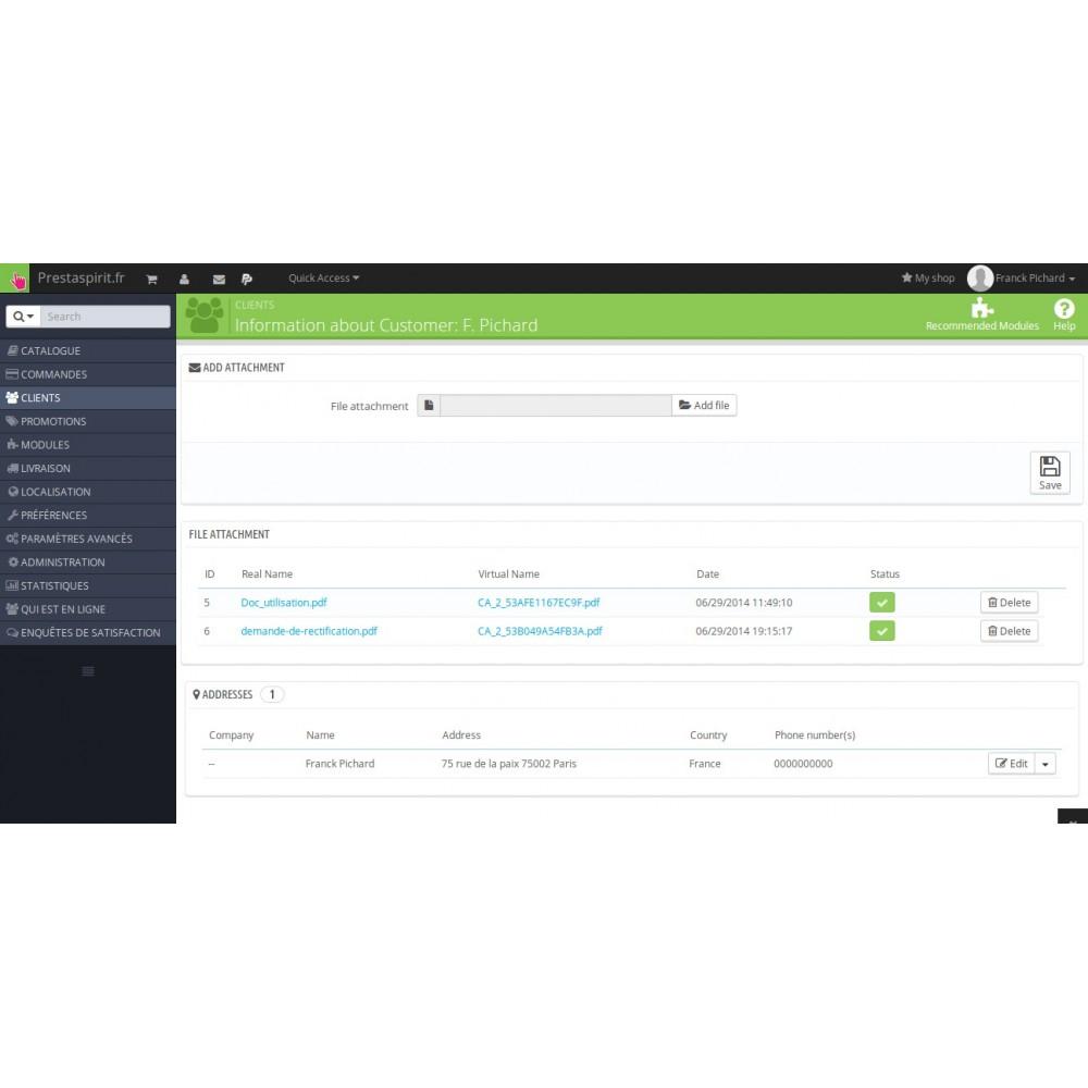 module - Service Client - Fichiers client téléchargeables - 2