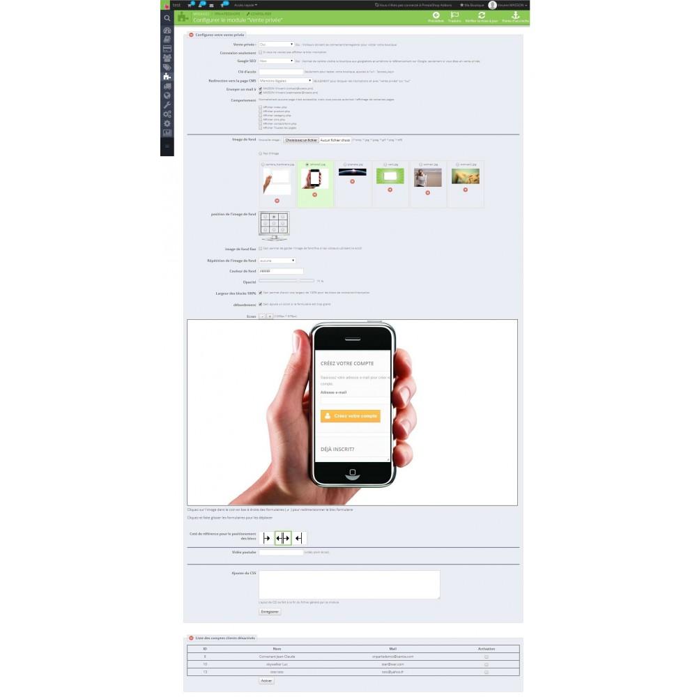 module - Uitverkoop & Besloten verkoop - Private Shop - 3