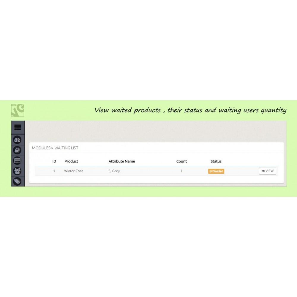 module - Cadastro e Processo de Pedido - Pre-order and Waiting List - 2