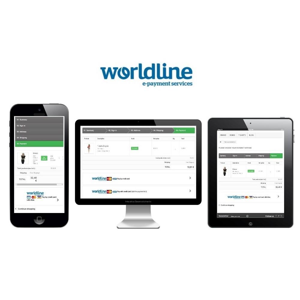 module - Paiement par Carte ou Wallet - Sips 2.0 - Atos Worldline (1.5, 1.6 & 1.7) - 3