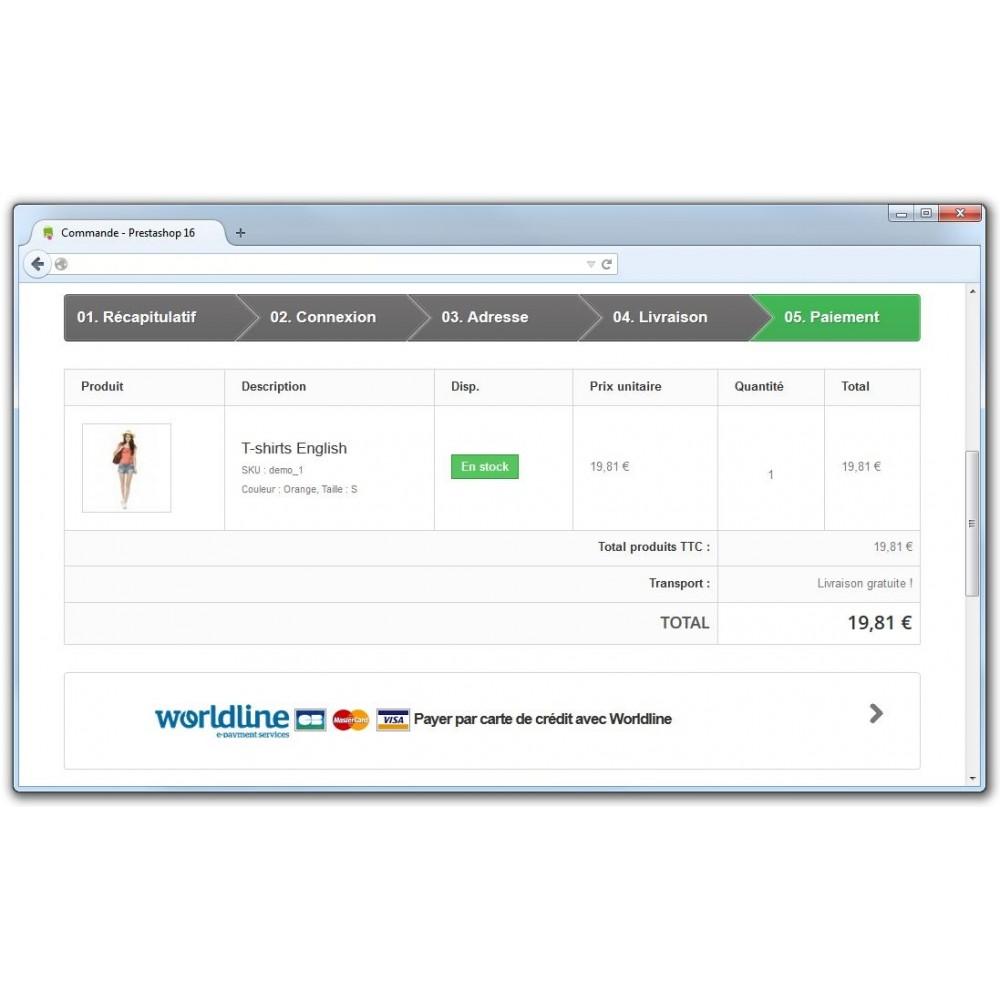 module - Paiement par Carte ou Wallet - Sips 2.0 - Atos Worldline (1.5, 1.6 & 1.7) - 4