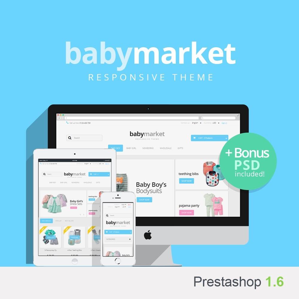 theme - Bambini & Giocattoli - Baby Market 1.6 Responsive - 1