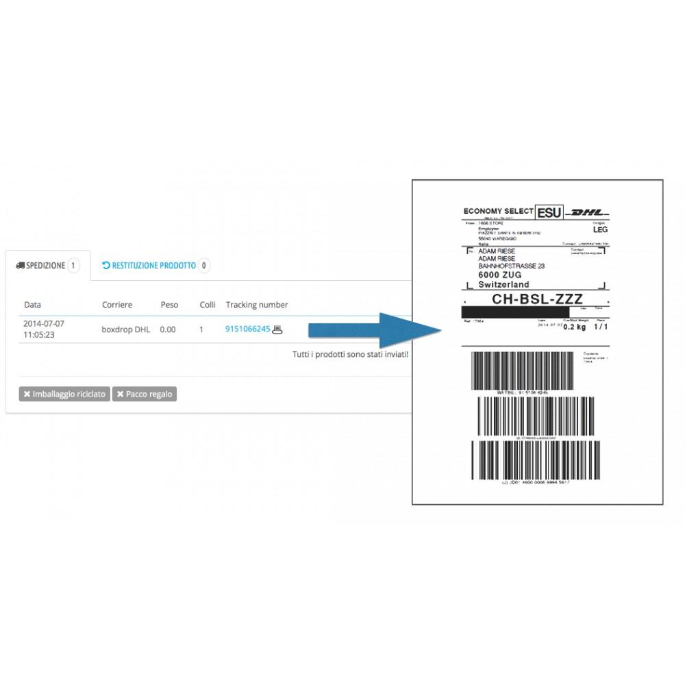 module - Corrieri - DHL eLogistics by boxdrop® - 4
