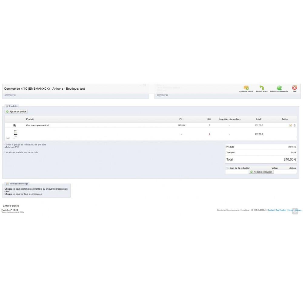 module - Déclinaisons & Personnalisation de produits - Upload pdf et zip sur les pages produits - 3