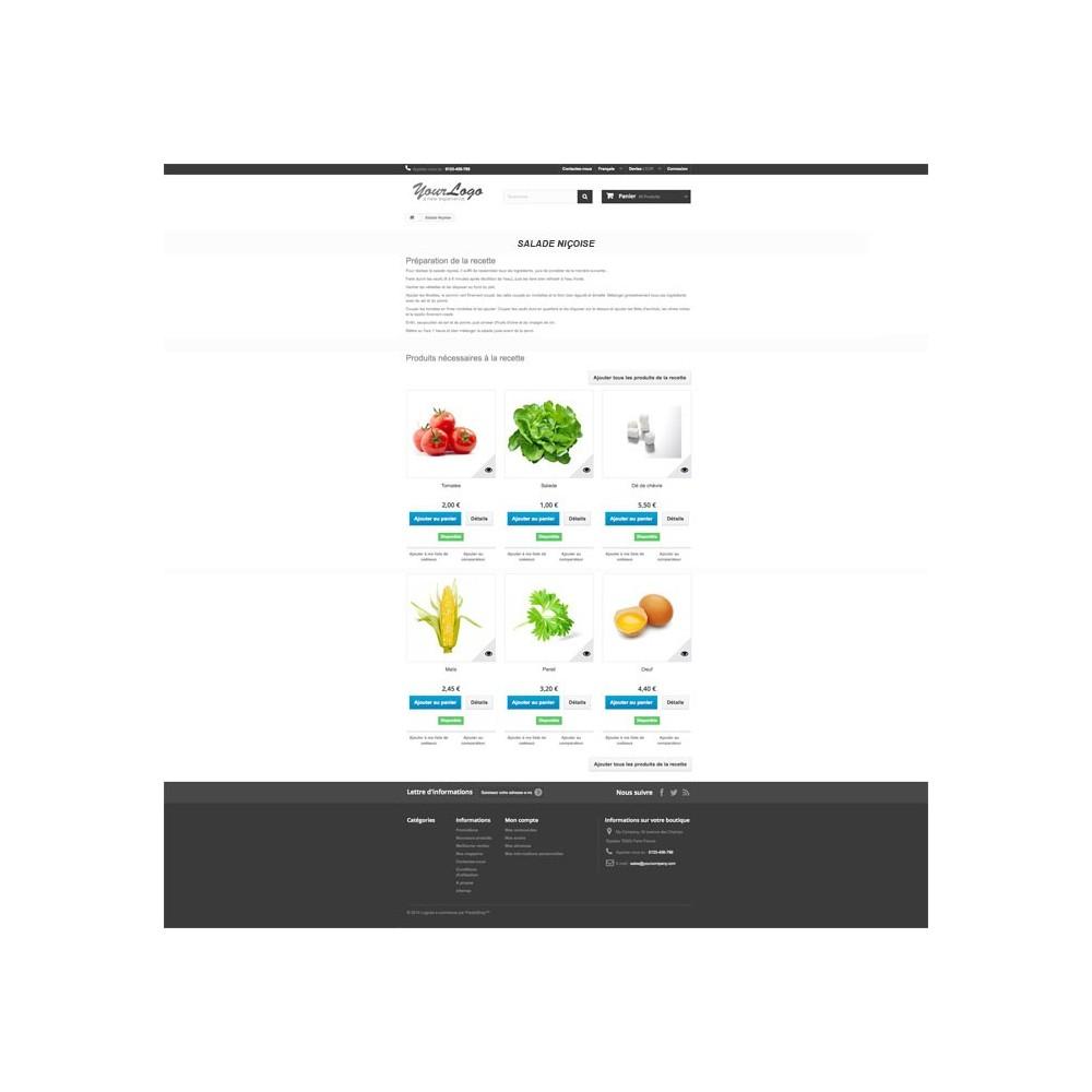 module - Gastronomía y Restaurantes - Cookbook - 7