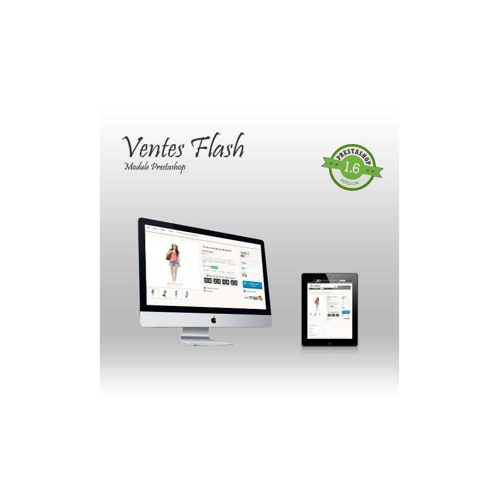 module - Ventes Flash & Ventes Privées - Ventes Flash - 1