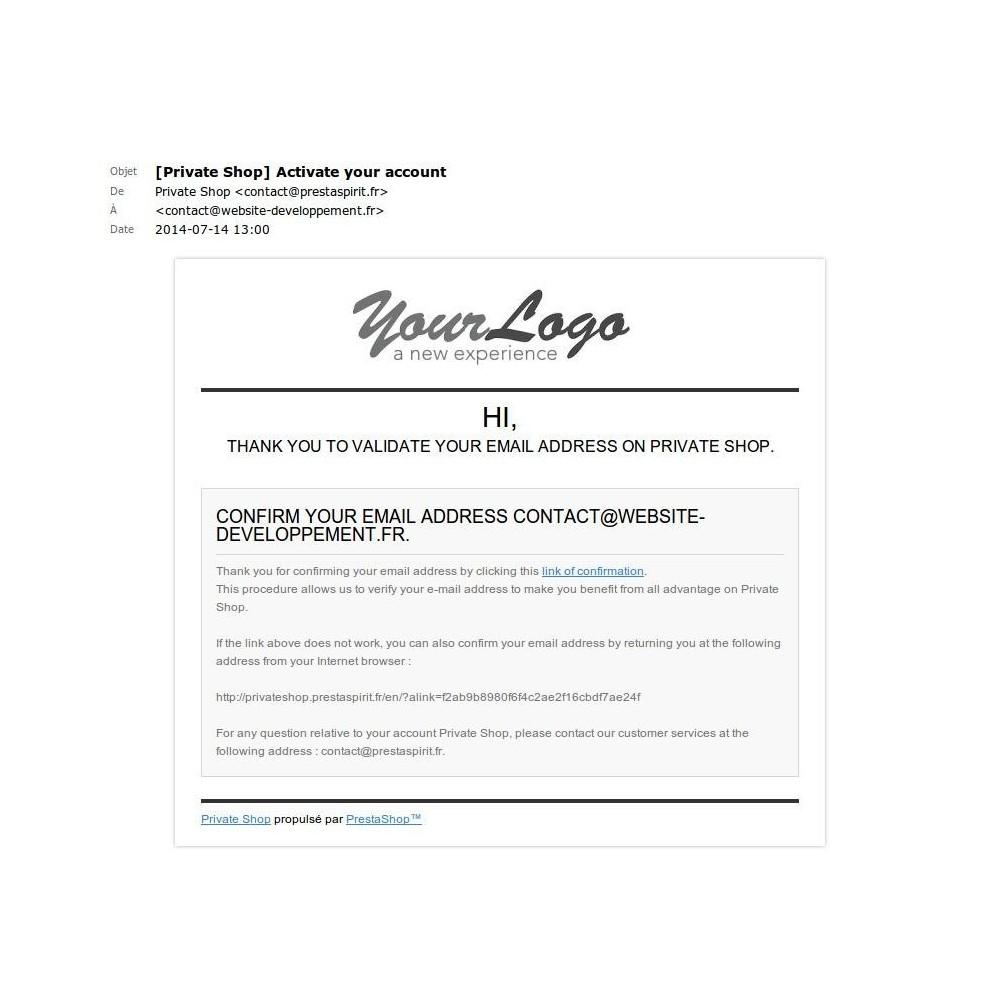 module - Sécurité & Accès - Accès Boutique Privée - 29