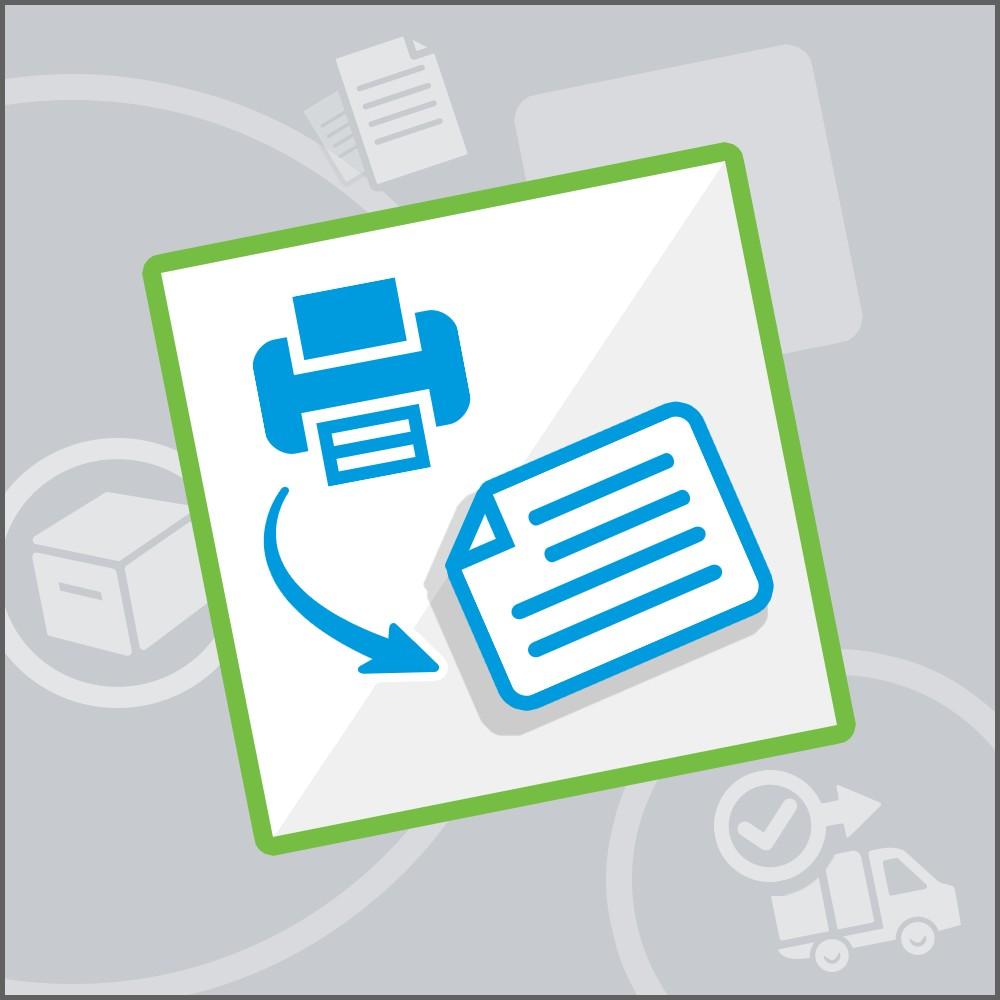 module - Preparazione & Spedizione - Stampa di etichette Pro - 1