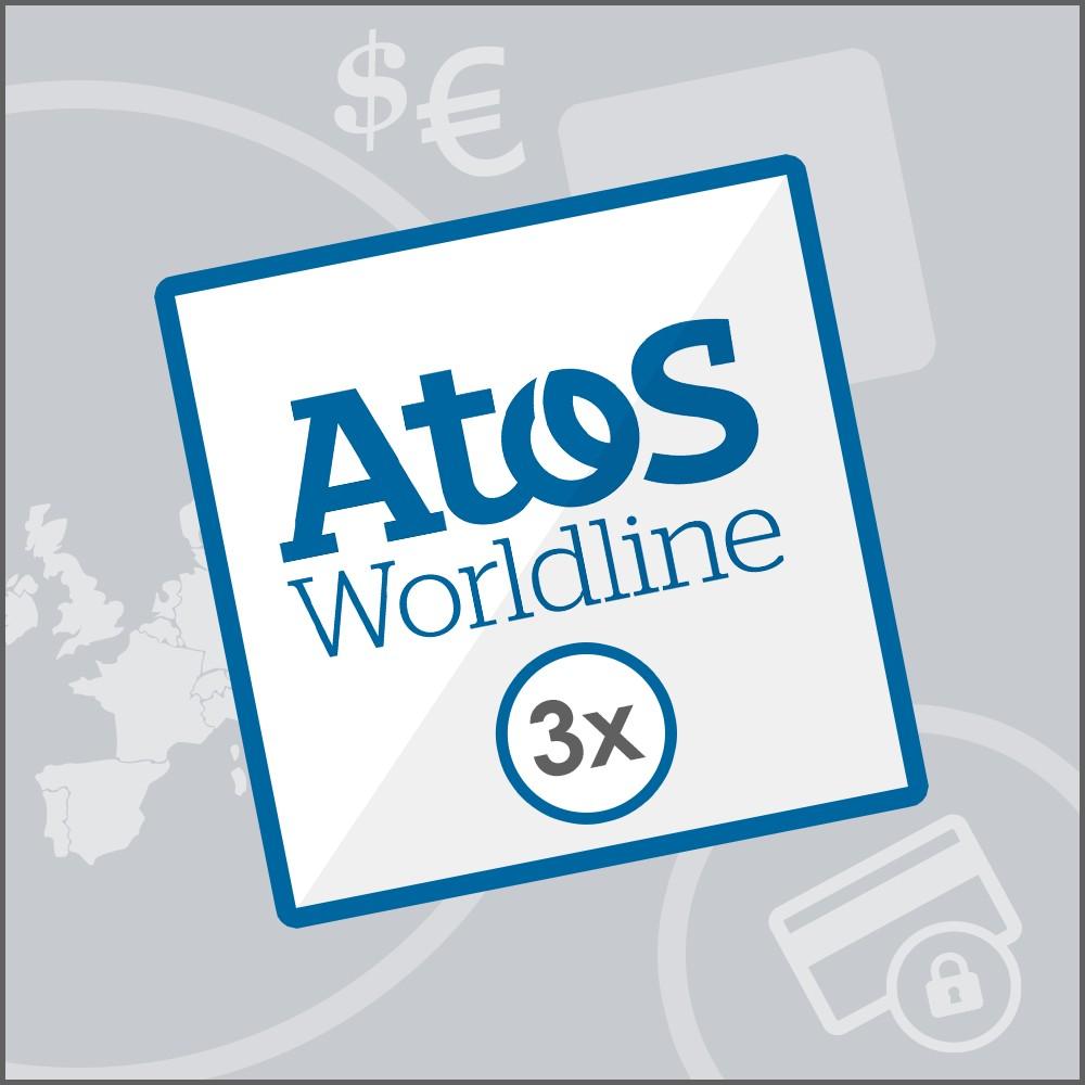 module - Zahlung per Kreditkarte oder Wallet - SIPS 3x Worldline Atos - 1