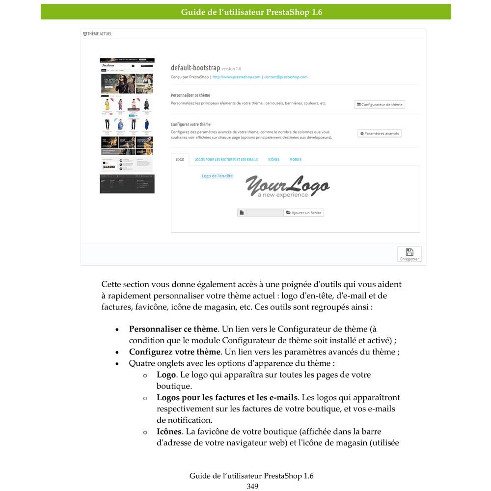 other - Guide utilisateur PrestaShop - Guide Utilisateur PrestaShop 1.6 - 4