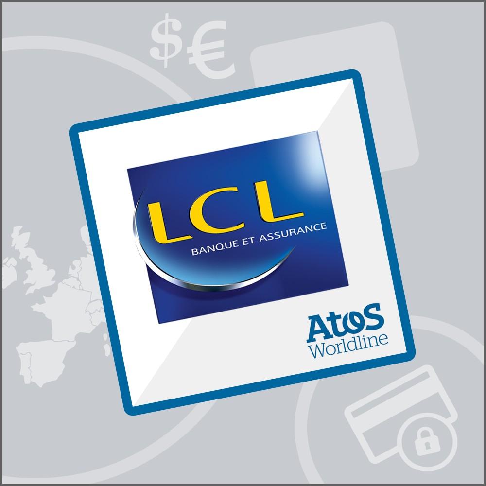 module - Zahlung per Kreditkarte oder Wallet - LCL Atos Sips Worldline - 1