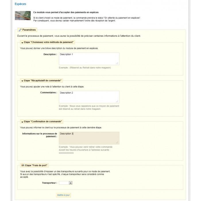 module - Betaling in de Winkel - Cash Payment / Paiement Espèces - 9