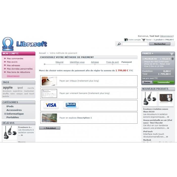 module - Pagamento em Loja - Cash Payment / Paiement Espèces - 6
