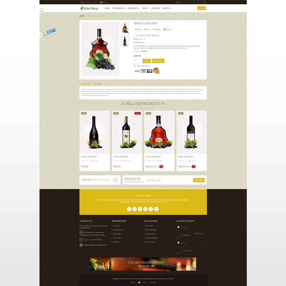 theme - Drink & Tobacco - Leo Wine Store - 4