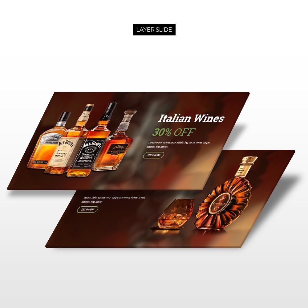 theme - Drink & Tobacco - Leo Wine Store - 6