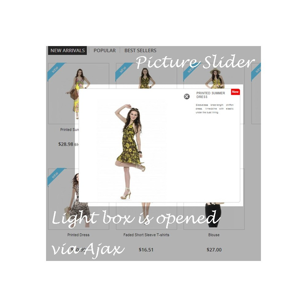 module - Outils de navigation - Quick View and Product Slider - 1