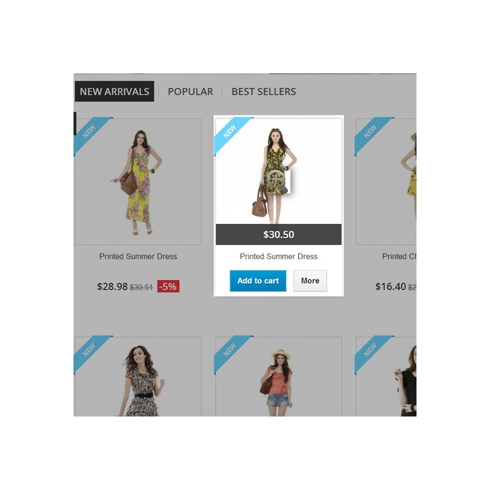 module - Outils de navigation - Quick View and Product Slider - 3
