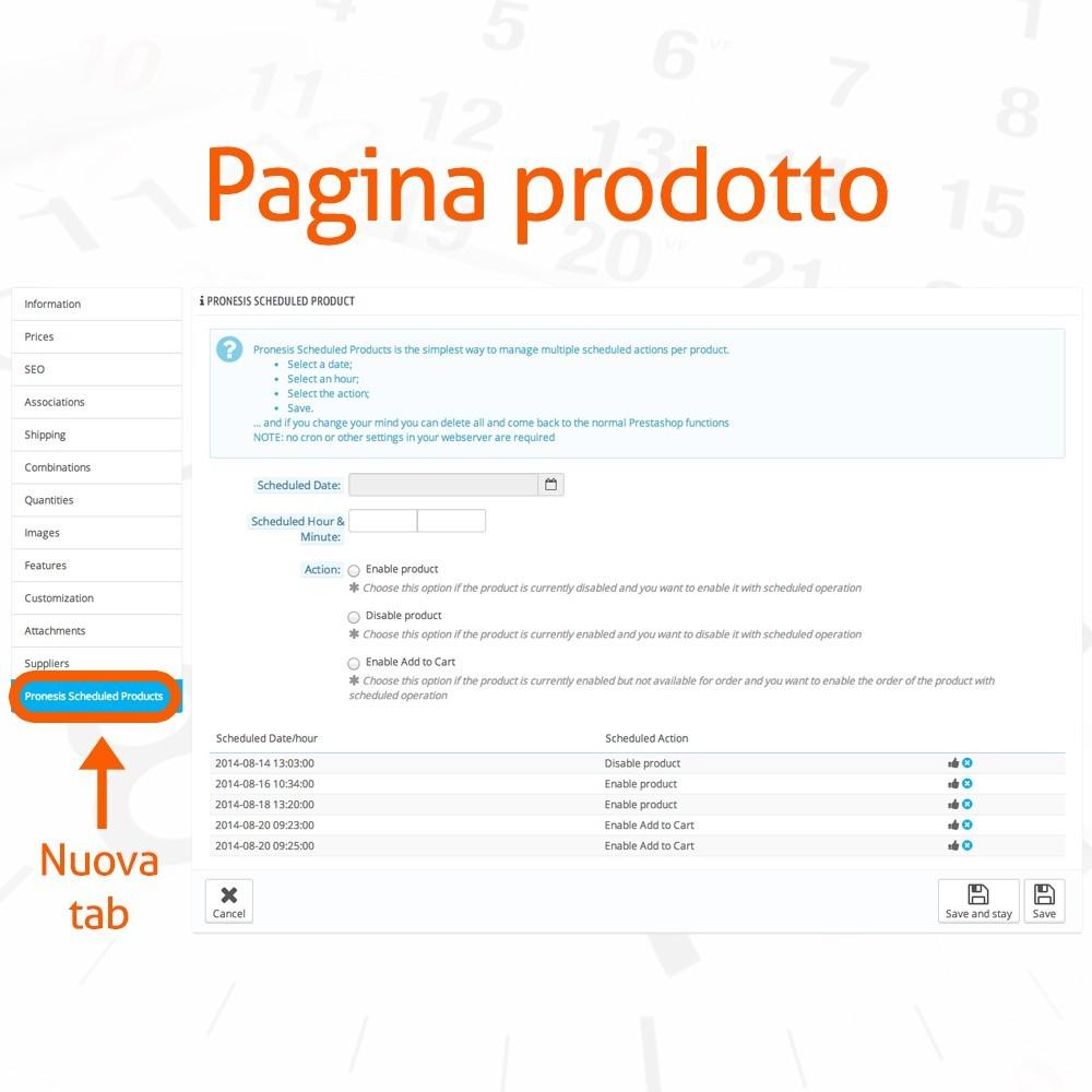 module - Amministrazione - Pubblicazione Prodotti Automatica - 2
