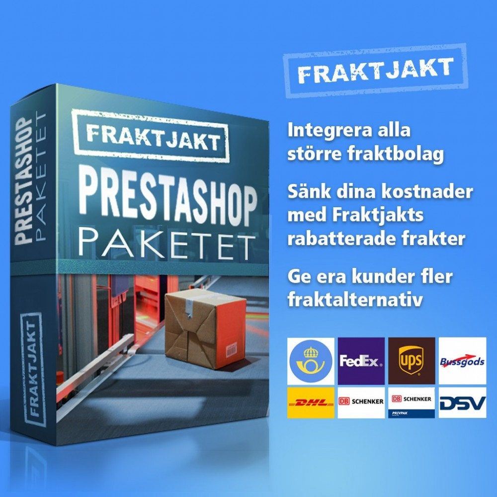 module - Перевозчики - Fraktjakt - Swedish shipping integration - 1