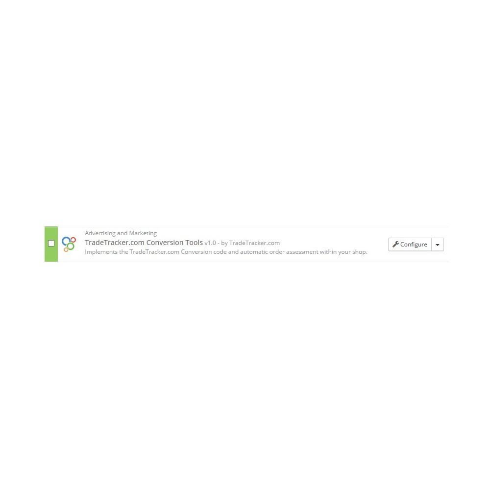 module - Płatne pozycjonowanie & Afiliacja - TradeTracker.com Conversion Tools - 2